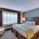 executive king bedroom at Best Western Plus The Inn at Hampton